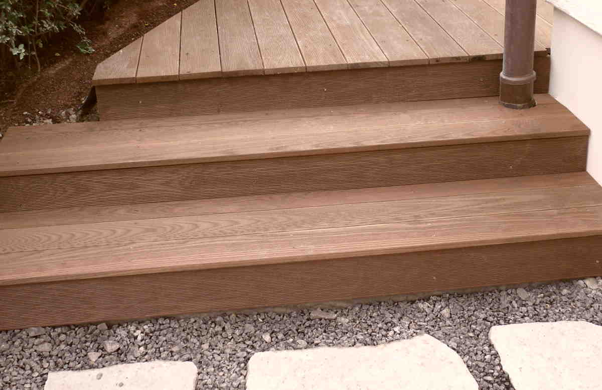 Design IdeenTerrasse Treppe  Holz Design Rubröder
