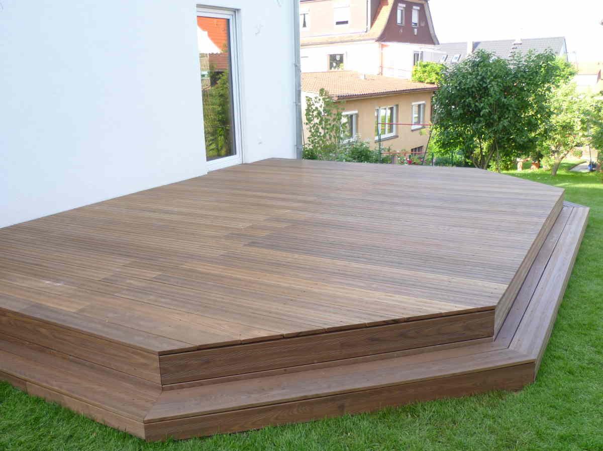 Faszinierend Terrassen Ideen Referenz Von Terrasse Semi-geriffelt